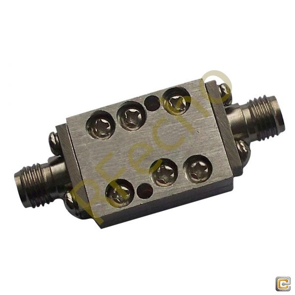 7.5 GHz to 18 GHz Rejection ≥40 dB @ DC-6 GHz High Pass Cavity Filter