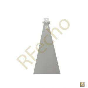 WR-284 Waveguide - 20dBi gain - Standard Gain Horn Antenna