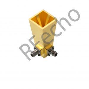 18-40GHz dual polarized horn antenna