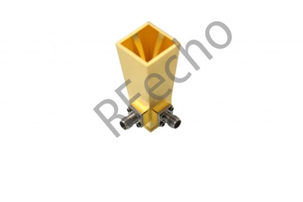 18-40GHz dual polarized horn antenna