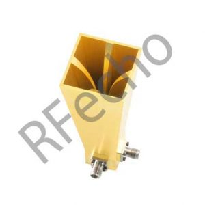 18-40GHz dual polarized horn antenna 30mm aperture