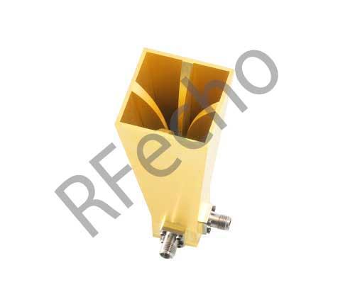 18-40GHz dual polarized horn antenna 30mm aperture