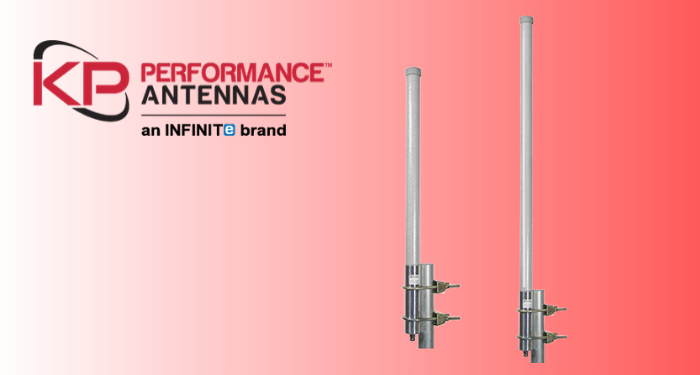 Rugged Omni-directional Antennas from 824 to 960 MHz for Wireless Infrastructure