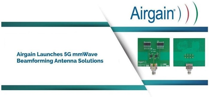 Airgain Launches 5G mm-Wave Beamforming Antenna Array for Small Cells