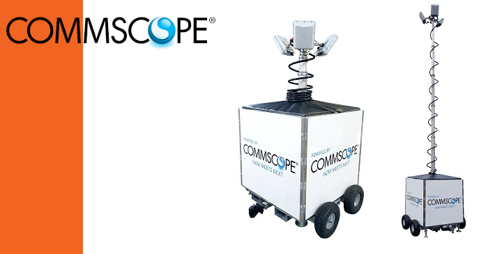 CommScope Introduces Portable Wi-Fi Solution for Outdoor Sites