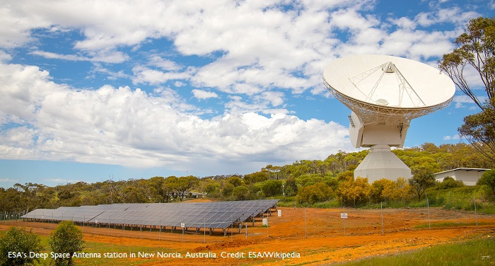 CRFS Arrays Deployed at Deep Space Antennas Sites by the European Space Agency