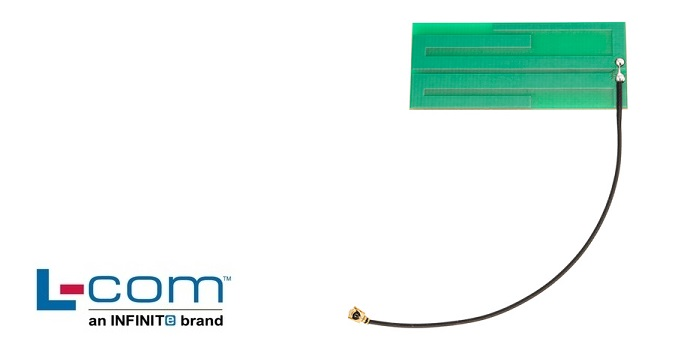 L-com Launches Embedded PCB Antennas with IPEX Connectors