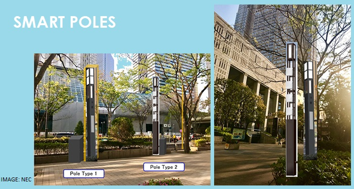 Sumitomo and NEC to Install 5G Enabled Smart Poles in Tokyo