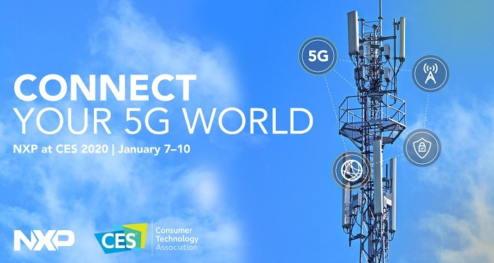 NXP to Showcase Advanced RF Solutions for 5G at CES 2020