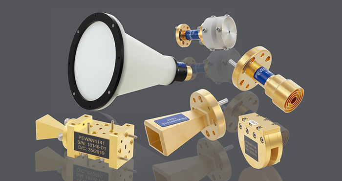Pasternack Introduces In-Stock mm-Wave Waveguide Antennas for Emerging 5G Applications