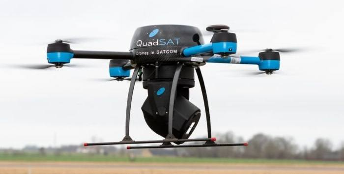 QuadSAT Showcasing its Drone-Based Antenna Testing Technology at SATELLITE 2020