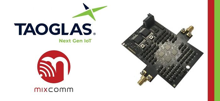 Taoglas Develops mm-Wave Antenna Subsystem Based on MixComm's Beamforming IC