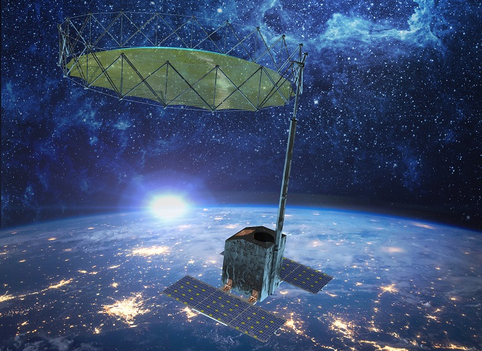 New Reflector Antenna Tailored for Smallsat Missions