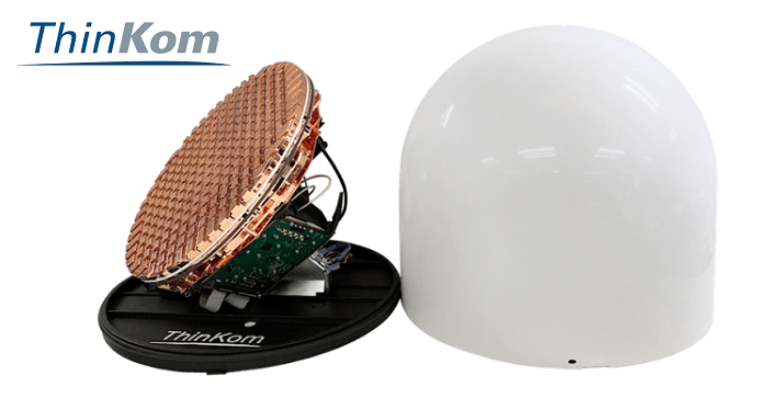 ThinKom Unveils NGSO Satellite User Terminal Prototype for Satcom Applications