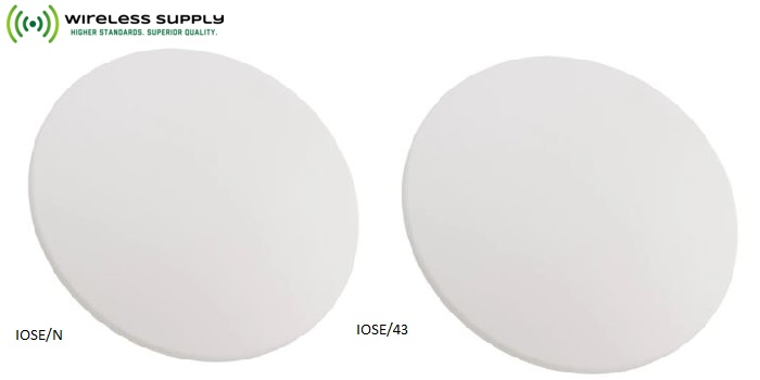 Ultra-thin Ceiling Mount Antennas with Unmatched Frequency Range