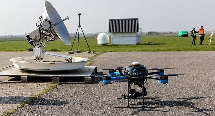 QuadSAT Develops UAS-Based Antenna Testing Solution for Satellite Operators