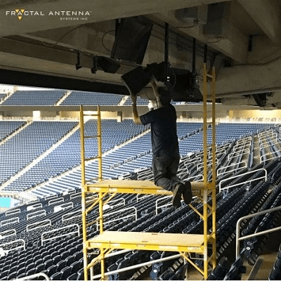 New Sector Antenna Solution Provides sub-6 GHz 5G Coverage in Stadiums