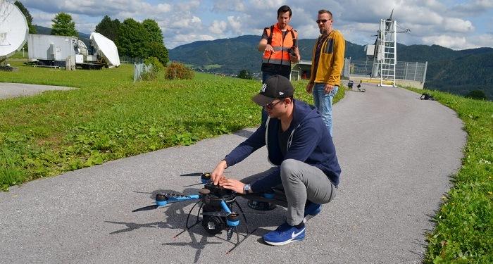 QuadSAT Demonstrates Drone Based Antenna Testing Capabilities for Satellite Operators