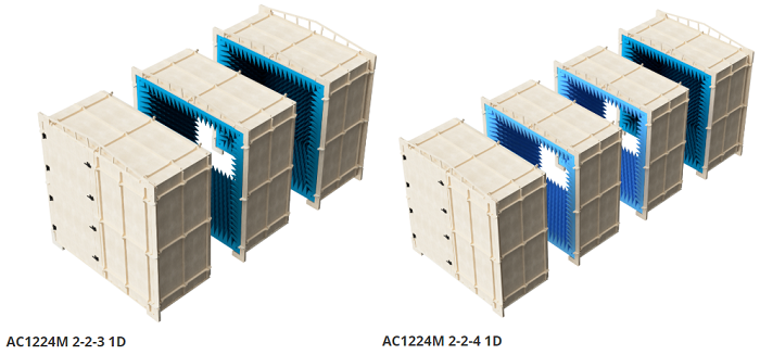 Reconfigurable mm-Wave Antenna Test Chambers for 5G and Radar Applications