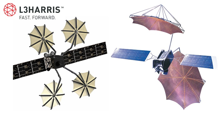 Compact Ka-Band Antenna for Satellites Unfolds into a 5 Meter Antenna Reflector