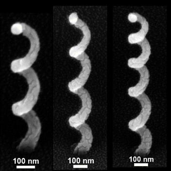 Analytical Tool to Design Corkscrew-Shaped Nano Antennas for Sensing Applications