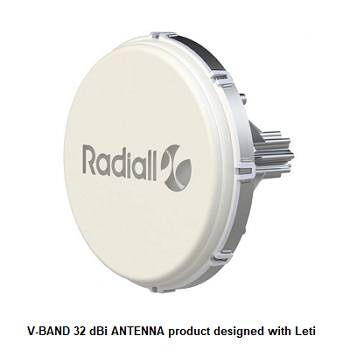 CEA-Leti & Radiall to Develop Ultra-Low Profile E-Band Antennas for 5G Networks
