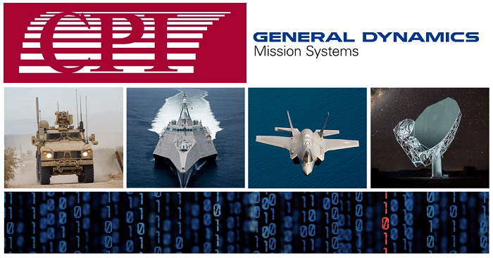 CPI to Acquire Satellite Antenna Systems Business of General Dynamics