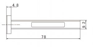 26.5GHz-40GHz ,VSWR(Max):1.032,  Waveguide Load   82501