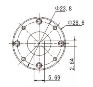 33GHz-50GHz ,VSWR(Max):1.06,  Waveguide Load   82502