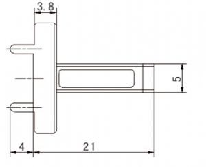 170GHz-220GHz ,VSWR(Max):1.085,  Waveguide Load   82506