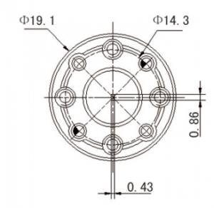 325GHz-500GHz ,VSWR(Max):1.12,  Waveguide Load   82506T