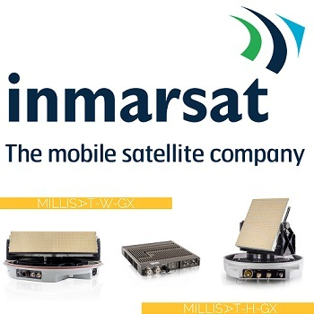 GetSAT and Inmarsat Introduce Miniaturized Ka-band Terminals for SATCOM Communications-on-The-Move