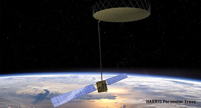 High-Accuracy Space Antenna Reflector for Enhanced SATCOM Applications