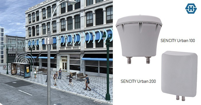 HUBER+SUHNER Introduces Outdoor MIMO Antennas for Urban 5G Deployments