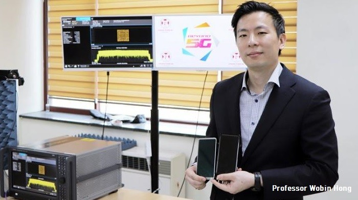 Researchers Embed Antennas in to the Display of 5G Smartphones