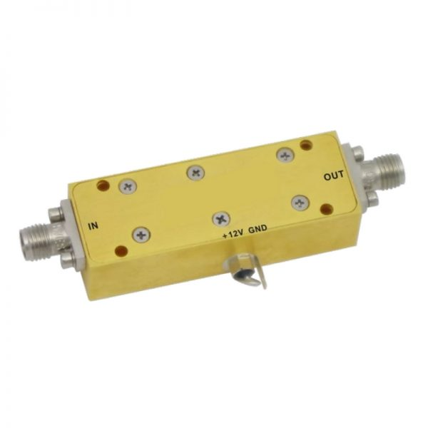 Low Noise Amplifier From 0.01GHz to 10GHz With a Nominal 27dB Gain NF 2.8dB
