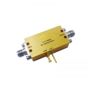 Ultra Wide Band Low Noise Amplifier From 2GHz to 12GHz With a Nominal 32dB Gain NF 2.5dB SMA Connectors