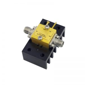 Ultra Wide Band Low Noise Amplifier From 5GHz to 10GHz With a Nominal 20dB Gain NF 2dB SMA Connectors