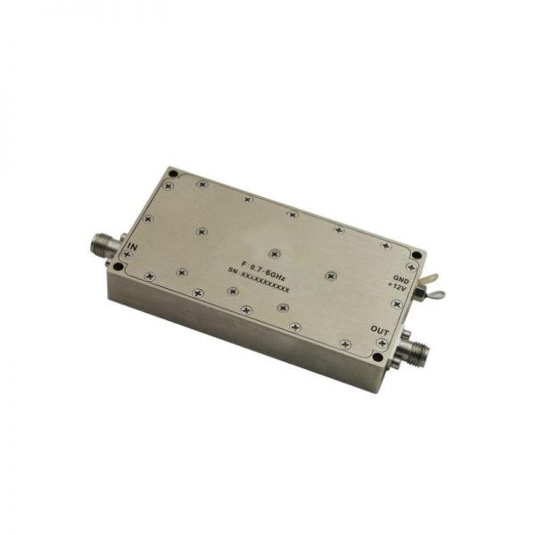 Ultra Wide Band Low Noise Amplifier From 1GHz to 16GHz With a Nominal 27.5dB Gain NF 1.8dB SMA Connectors