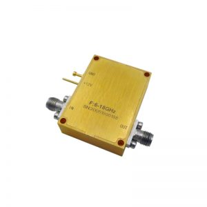 Ultra Wide Band Low Noise Amplifier From 6GHz to 18GHz With a Nominal 43dB Gain NF 2.8dB SMA Connectors