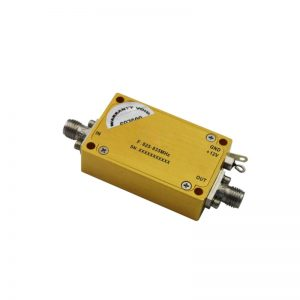 Ultra Wide Band Low Noise Amplifier From 0.825GHz to 0.835GHz With a Nominal 41dB Gain NF 1dB SMA Connectors