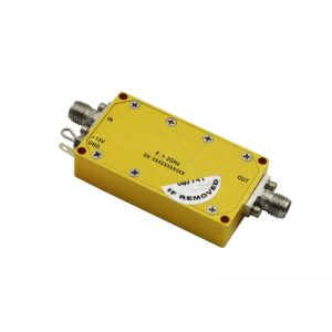 Ultra Wide Band Low Noise Amplifier From 1GHz to 2GHz With a Nominal 22dB Gain NF 2.7dB SMA Connectors