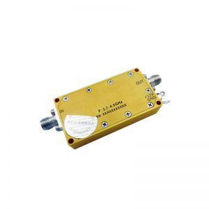 Ultra Wide Band Low Noise Amplifier From 3.7GHz to 4.5GHz With a Nominal 35dB Gain NF 1.3dB SMA Connectors
