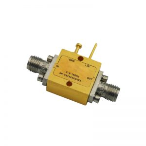 Ultra Wide Band Low Noise Amplifier From 9GHz to 18GHz With a Nominal 20dB Gain NF 2dB SMA Connectors