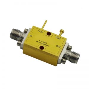 Ultra Wide Band Low Noise Amplifier From 12GHz to 18GHz With a Nominal 25dB Gain NF 2dB SMA Connectors