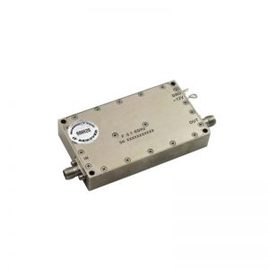 Ultra Wide Band Low Noise Amplifier From 0.1GHz to 6GHz With a Nominal 33dB Gain NF 3.5dB SMA Connectors