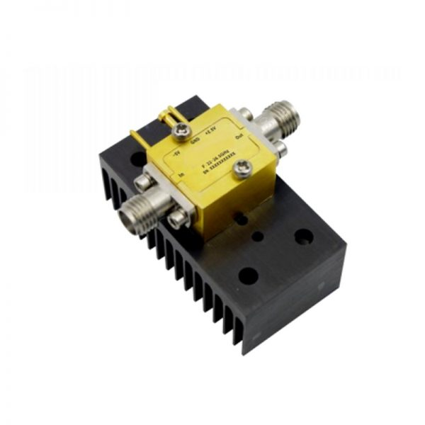 Ultra Wide Band Low Noise Amplifier From 22GHz to 26.5GHz With a Nominal 23dB Gain NF 2.5dB SMA-Female Connectors