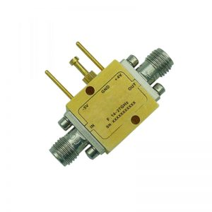 Ultra Wide Band Low Noise Amplifier From 14GHz to 27GHz With a Nominal 18dB Gain NF 2dB 2.92mm Connectors