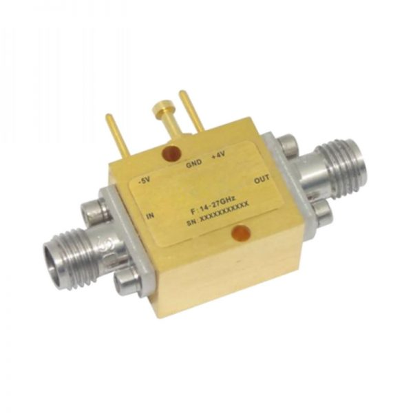 Ultra Wide Band Low Noise Amplifier From 14GHz to 27GHz With a Nominal 18dB Gain NF 3dB 2.92-Female Connectors