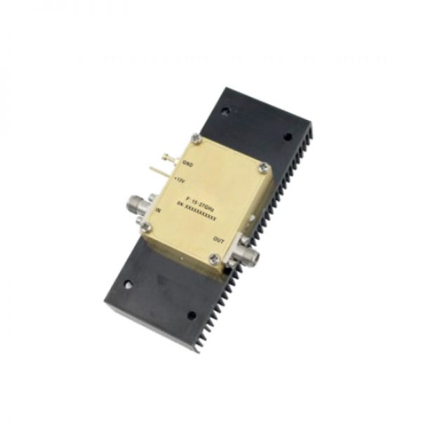 Ultra Wide Band Low Noise Amplifier From 15GHz to 27GHz With a Nominal 41dB Gain NF 2.5dB 2.92mm Connectors